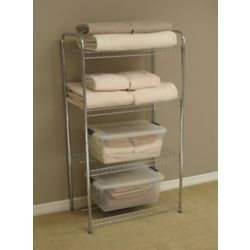 Rubbermaid 4 Tier All Purpose Shelf