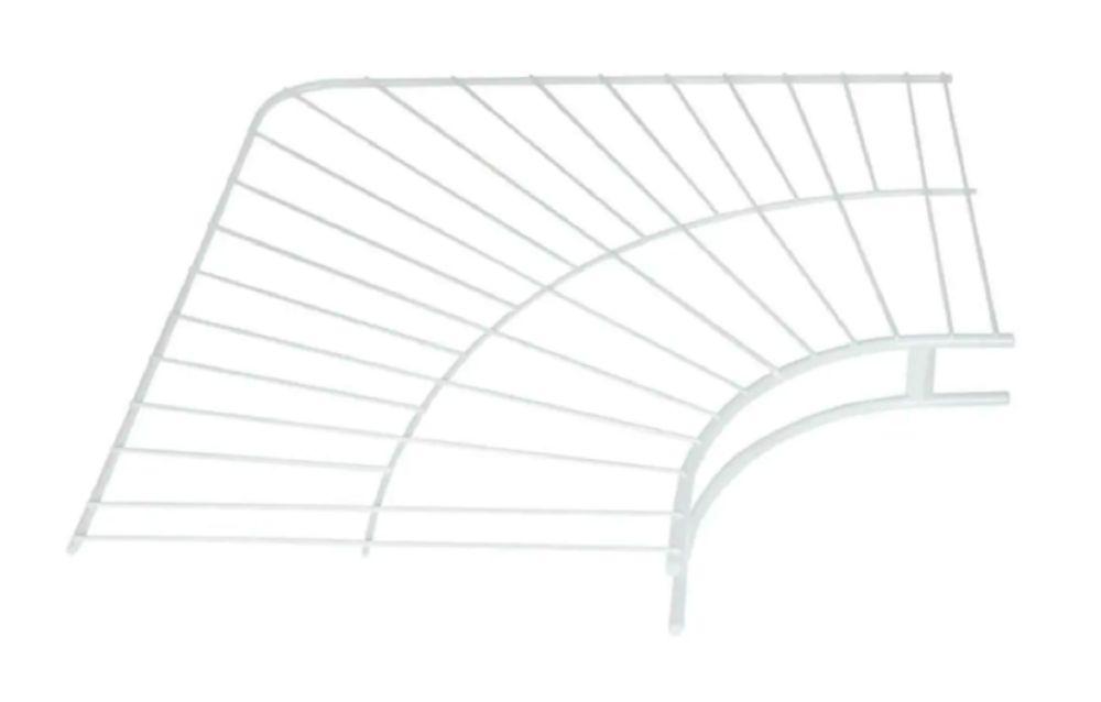 12 Inch Wardrobe Corner Shelf FG3G30LWWHT Canada Discount