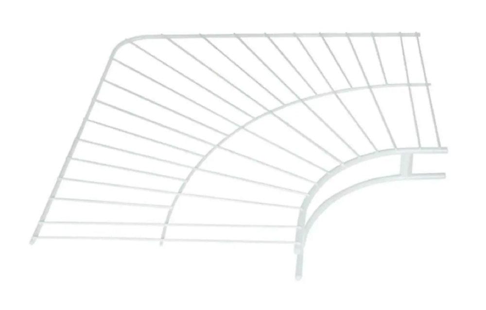 12 Inch Wardrobe Corner Shelf