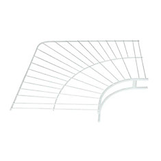12 Inch Wardrobe Corner Shelf