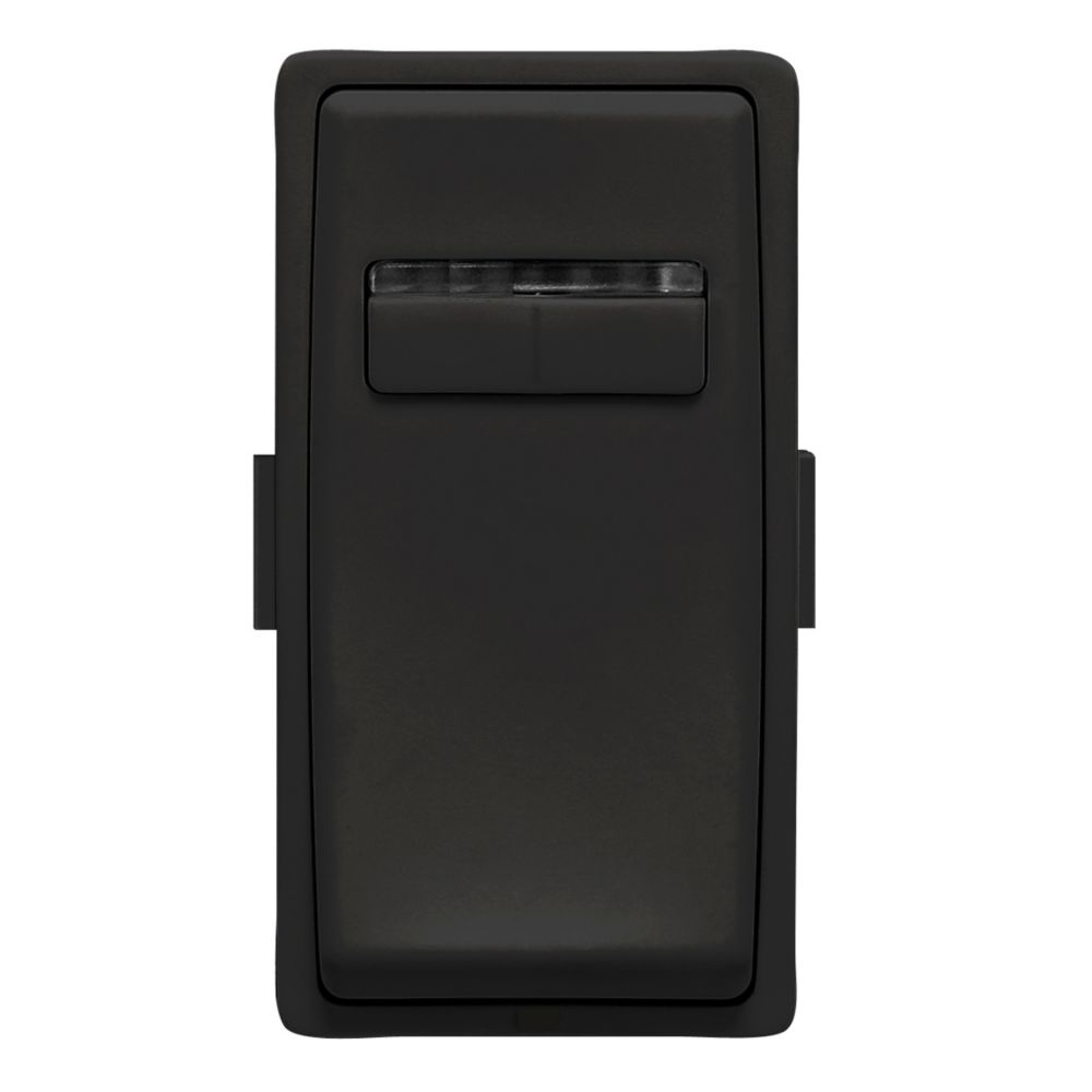 Leviton - Renu Face Plate for Digital Dimmer (Wallplate not Included) in Onyx Black