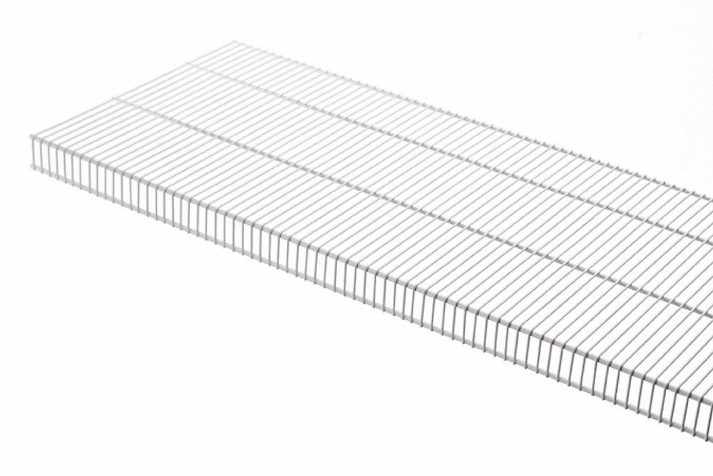 TightMesh 20-inch x 4 ft. Wire Shelf in White