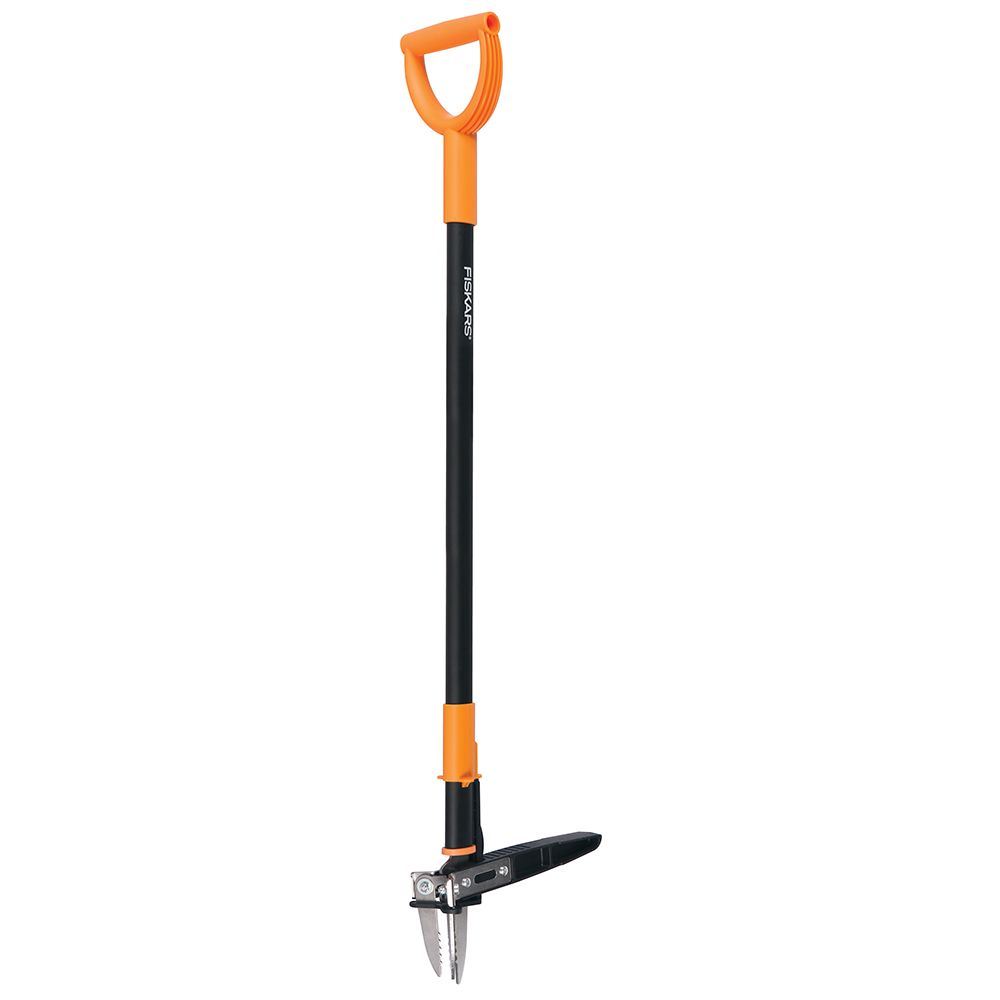 Fiskars 39-inch D-Handle Stand-Up 3-Claw Weeder