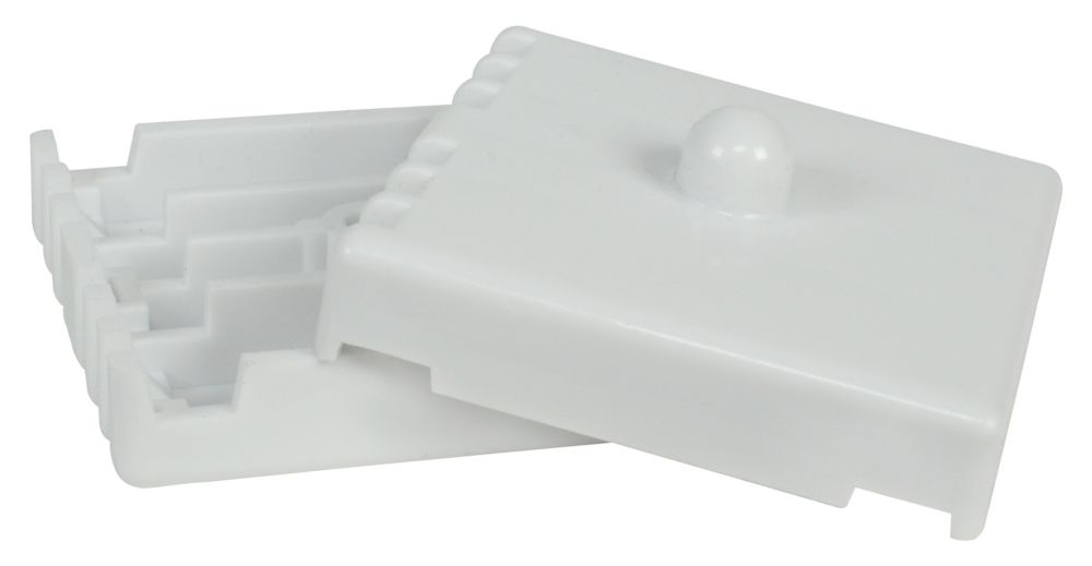 Plastic Joiner Bracket for Wire Shelving