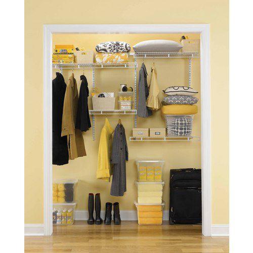 Rubbermaid Multi Purpose Closet Kit