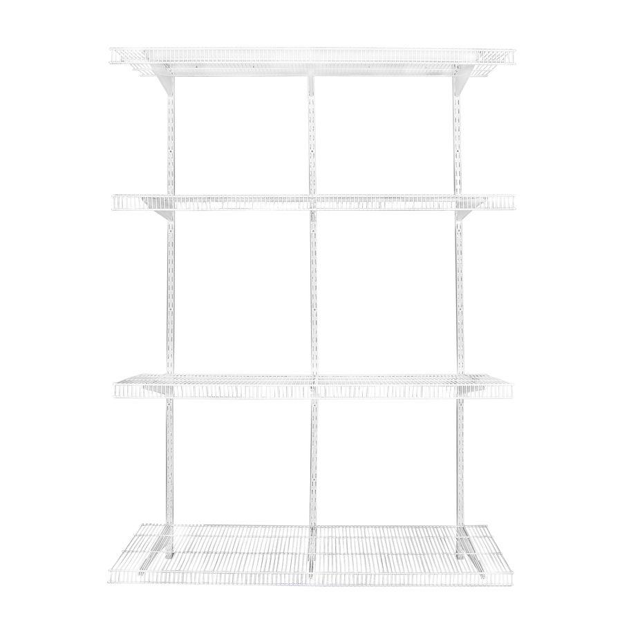 Rubbermaid White Wire Adjustable Pantry Kit