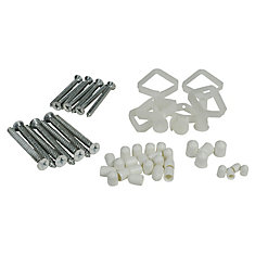 Fast Track Hardware Installation Kit - For Hang Rail & Uprights