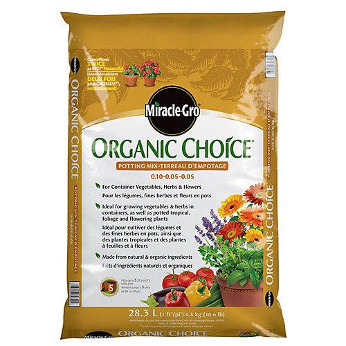Terreau d'empotage Miracle-Gro Organic Choice