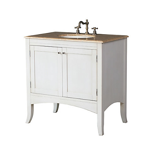 Alyssa 30-inch W Vanity in White