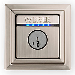 Weiser Kevo Contemporary Electronic Deadbolt Black The