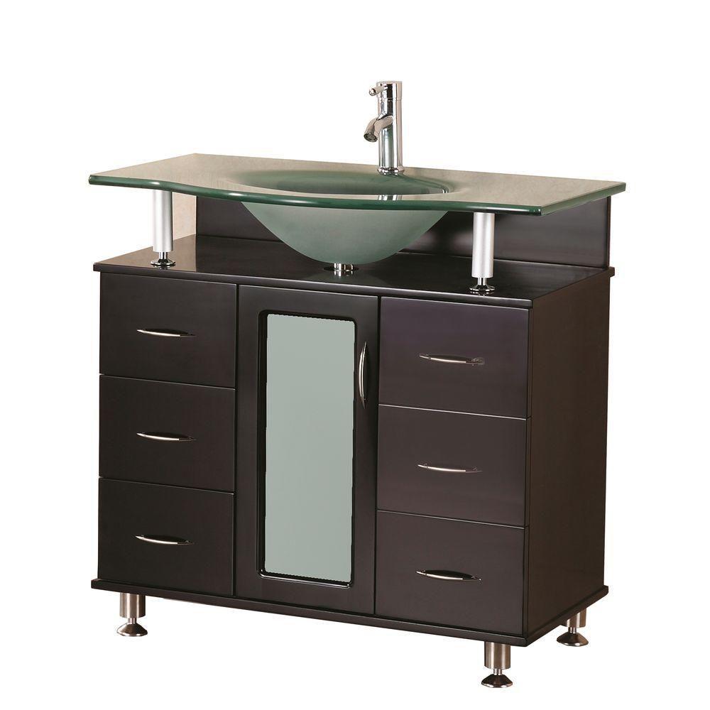 Meuble Simple Vasque Huntington de 36 po (Robinet non inclus)