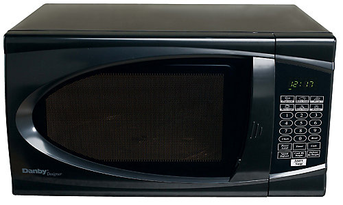 Designer 0 7 Cu Ft Countertop Microwave In Black
