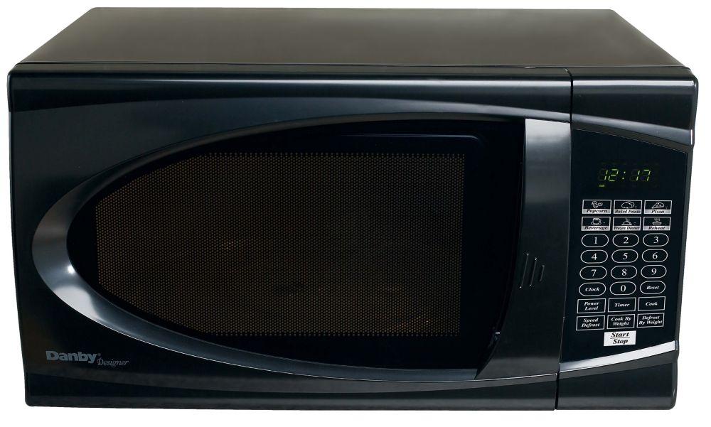 Danby Designer 0.7 cu. ft. Countertop Microwave in Black