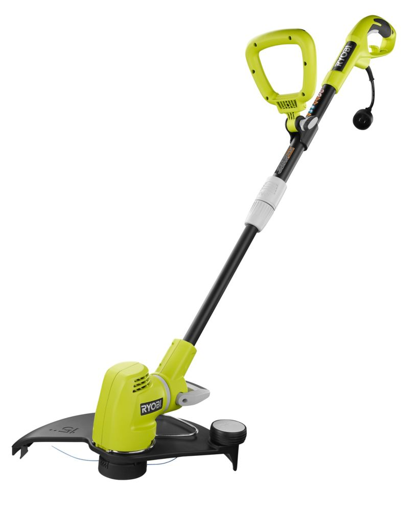 "5.5A 15"" Swivel Head String Trimmer"