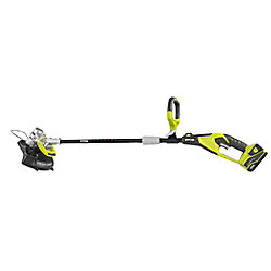 RYOBI 24V Li-Ion Cordless String Trimmer/Edger - 2.6 Ah Battery and Charger Included