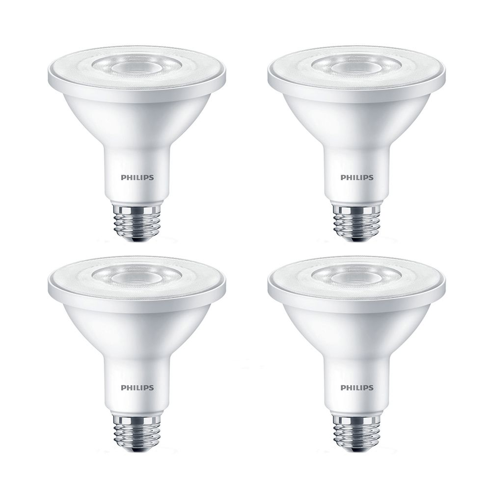 LED 11W 75W PAR30 Bright White (3000K) - Case of 4 Bulbs 452615 Canada Discount