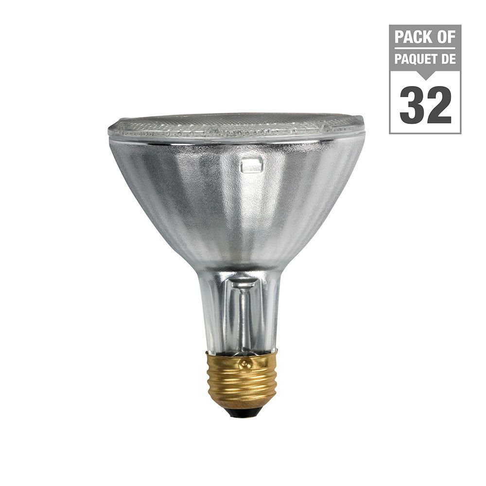 Halogen 75W PAR30 Flood - Case of 32 Bulbs