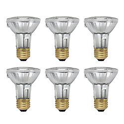 Philips Halogen 50W PAR20 Flood- Case of 6 Bulbs