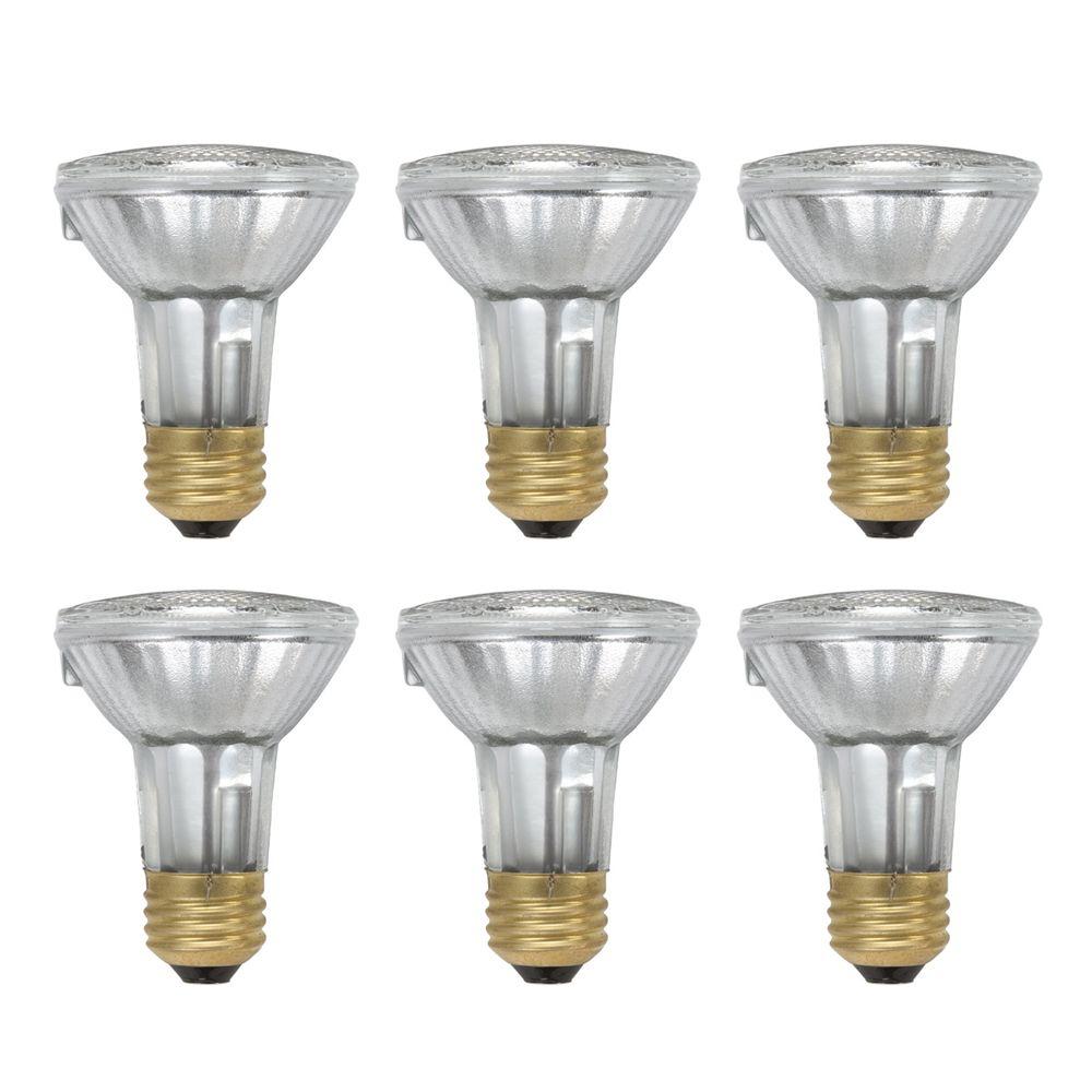 EcoVantage Ampoule éconergétique-Halogène Projecteur d'intérieur-PAR20 39W = 50W - Cas de 6 Ampou...
