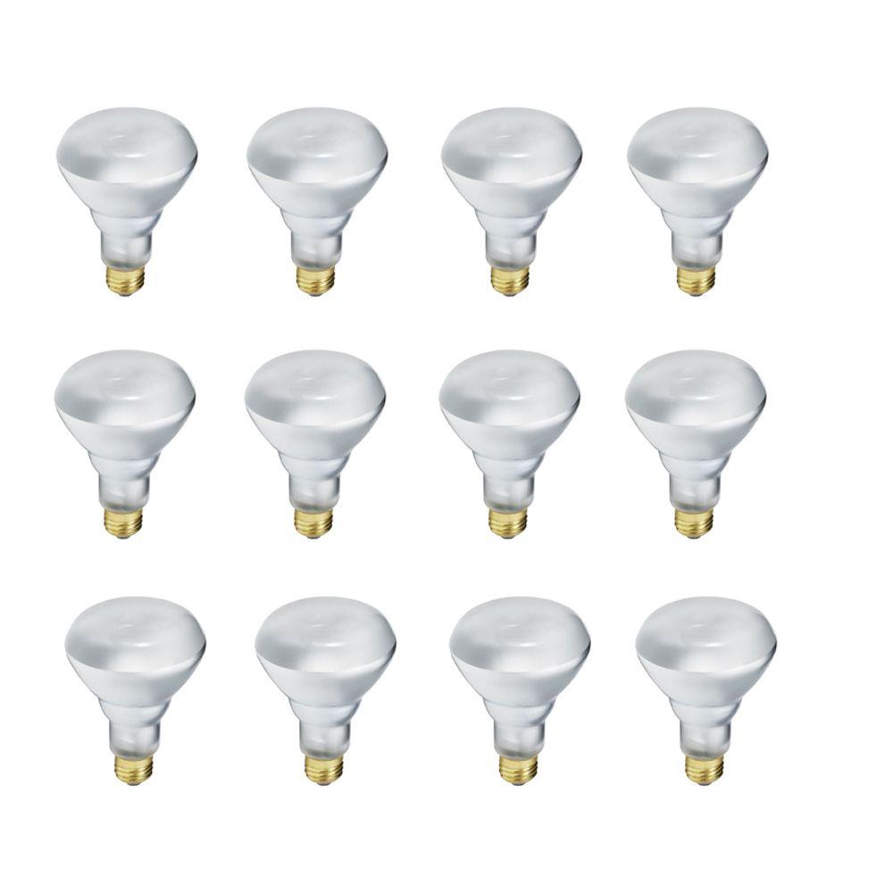 EcoVantage Ampoule éconergétique-Halogène Projecteur d'intérieur-BR30  40W = 65W - Cas de 12 Ampo...
