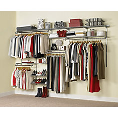 Configurations Custom Closet Kit  6ft. To 10ft.