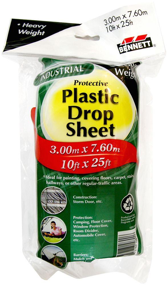 10x25 Heavy Weight Dropsheet Roll