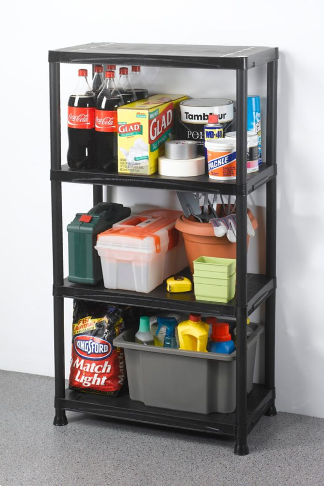 Hdx 24 Inch 5 Shelf Storage Organizer The Home Depot Canada