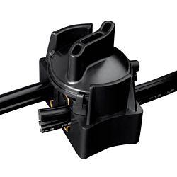 Hampton Bay Low-Voltage Black Cable Splice Connector