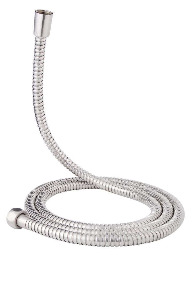 72 Inch Stainless Steel Hose - Brushed Nickel