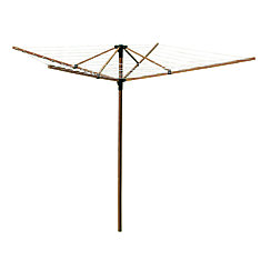 Greenway Deluxe Bamboo Fold-Away Clothesline