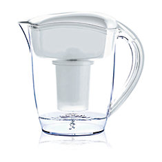 White Alkaline Water Pitcher