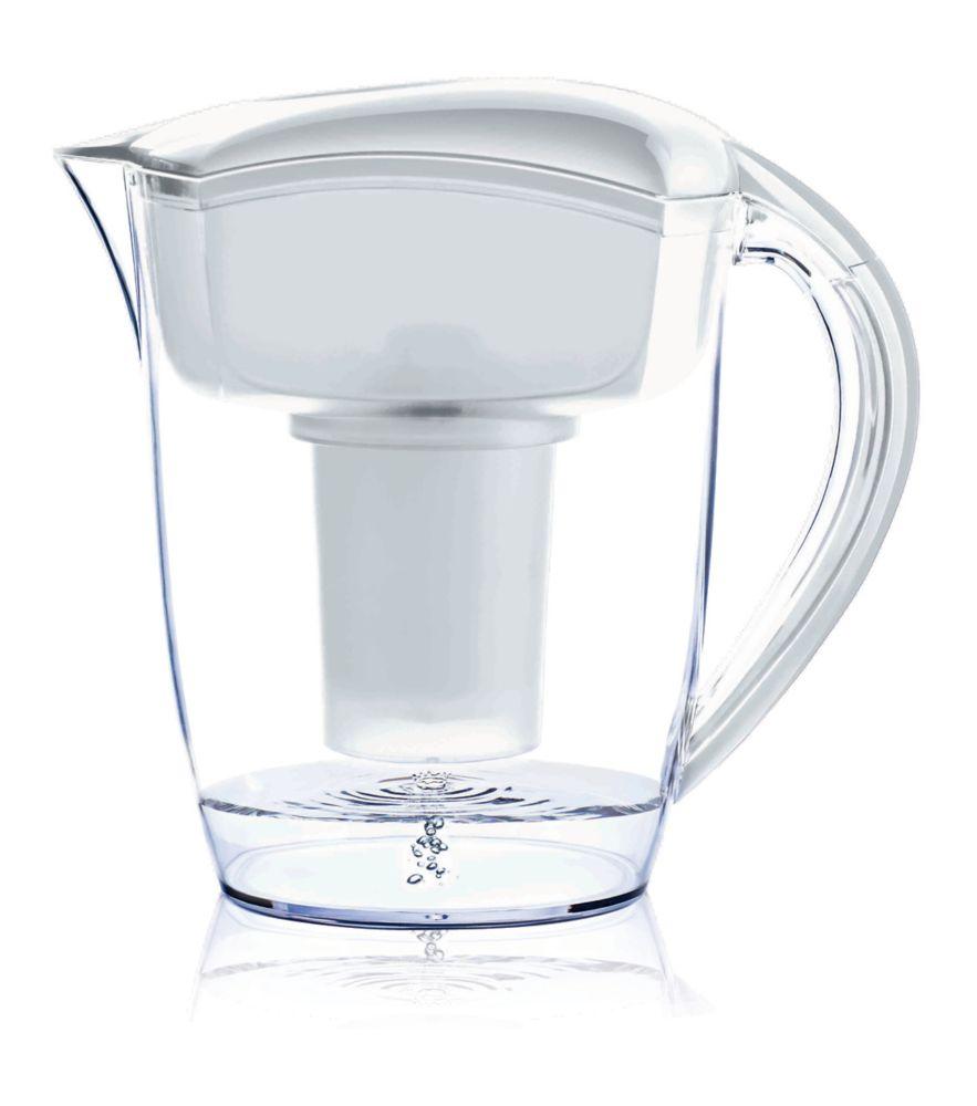 White Alkaline Water Pitcher