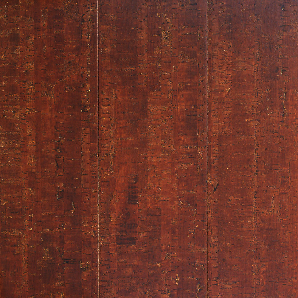 Plancher, liège, 13/32 po x 5 1/2 po x 35 5/8 po, Spiceberry, 10,92 pi2/boîte