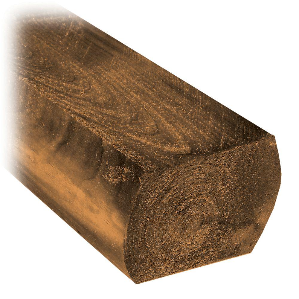 Treated Wood 8' Mini Tie