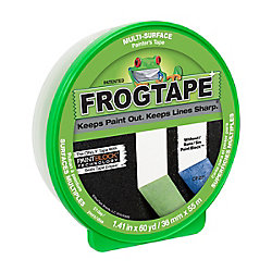FrogTape Ruban de peintre pour surfaces multiples - Vert, 3,6cm x 55m (1,41po x 60v)