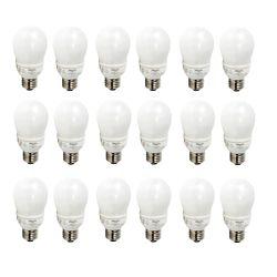 Philips LFC Domestique EnergySaver 9W = 40W Blanc doux (2700K) - Cas de 18 Ampoules