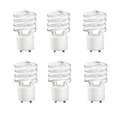 Philips CFL 23W =100W GU24 Mini Twister Soft White (2700K) - Case of 6 Bulbs