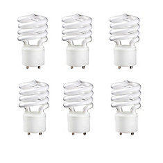 CFL 23W =100W GU24 Mini Twister Soft White (2700K) - Case of 6 Bulbs