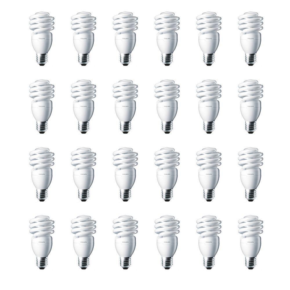 LFC Mini Twister EnergySaver 13W = 60W Lumière du jour (6500K) - Cas de 24 Ampoules