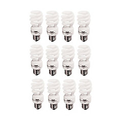 CFL 13W = 60W Mini Twister Daylight (6500K) - Case of 12 Bulbs