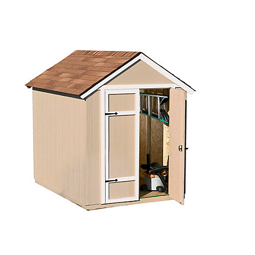 Sherwood 6 ft. x 8 ft. Garden Shed