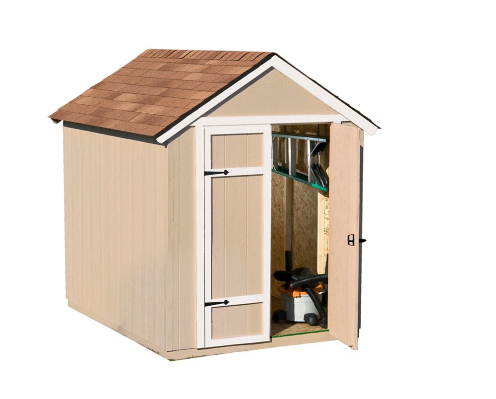 Sherwood Garden Shed (6 Ft. x 8 Ft.)