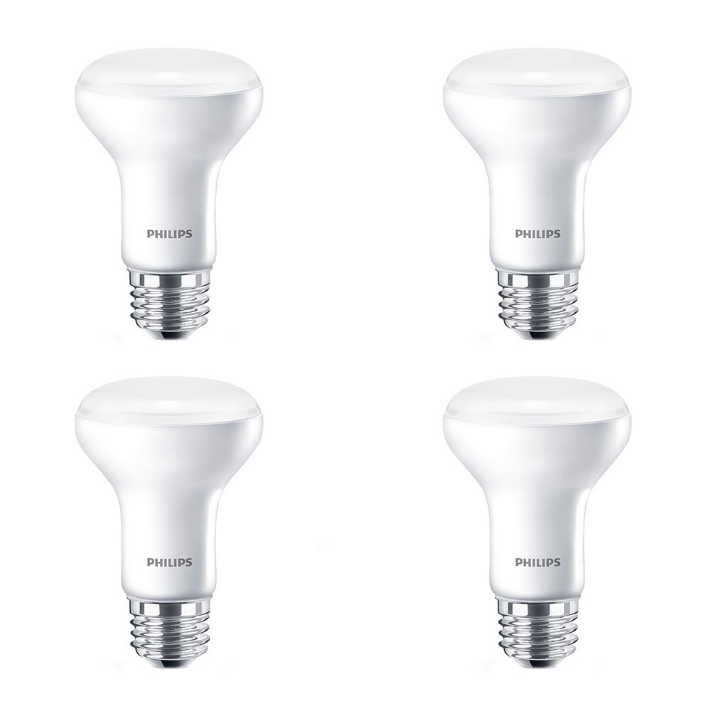 LED 6W = 45W R20 Warm Glow (2700K -2200K) - Case of 4 Bulbs