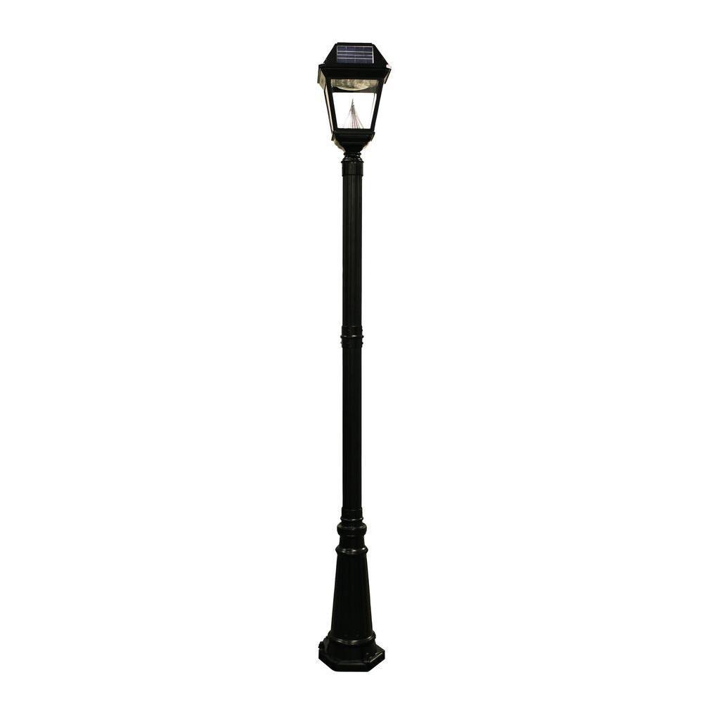 Imperial II Solar Lamp Post Single Head