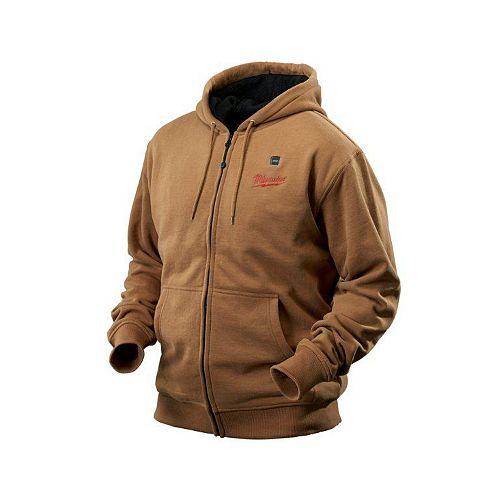 Milwaukee Tool M12 Cordless Khaki Heated Hoodie Kit - Medium