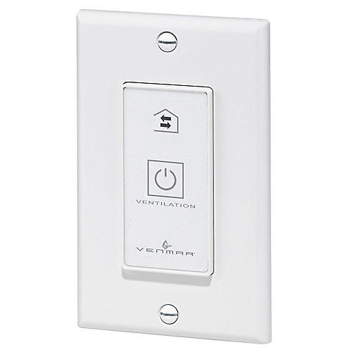 20-minute lighted push button for EVO5 500 HRV or EVO5 700 HRV HEPA