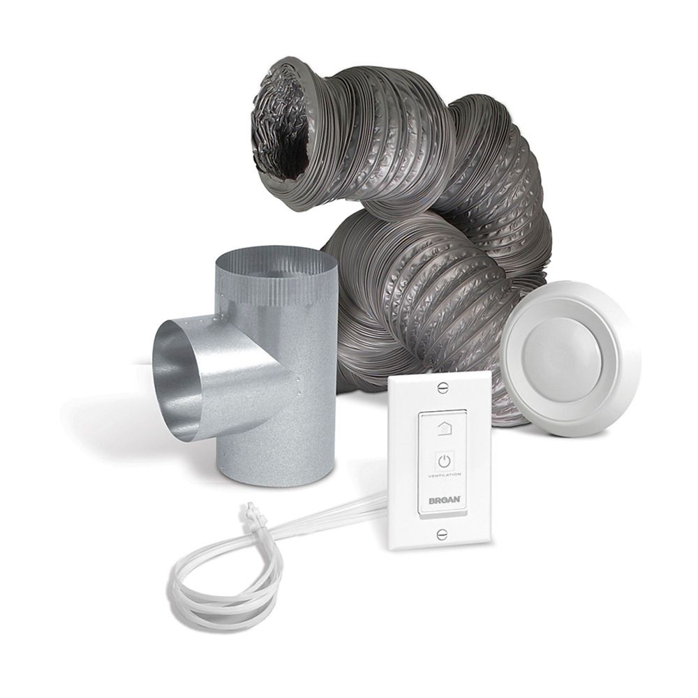 IKBV1000 -  Optional Bathroom Installation Kit for the EVO5-700 or EVO5-500 Air Exchanger Units
