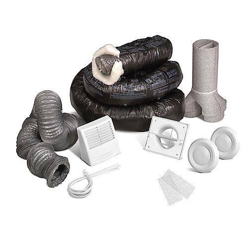 Basic installation kit for EVO5 500 HRV or EVO5 700 HRV HEPA