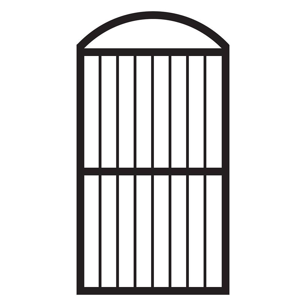 Porte de clôture voûtée