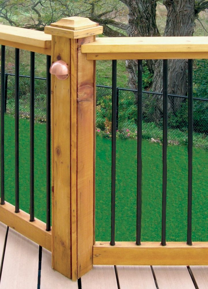 Veranda veranda horizontal rail kit the home depot canada for Petite veranda en kit